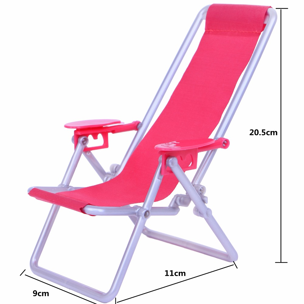 High Quality Black White Swimsuit Sexy Bikini + Beach Foldable Chair Lounge Furniture Clothes For Barbie Doll Accessores Kid Toy
