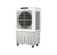 Portable Home Office 9000cmh Airflow Air Cooler Fan For Room Air Cooling Fan Conditioner Freshener Device 80L Water Tank MC09