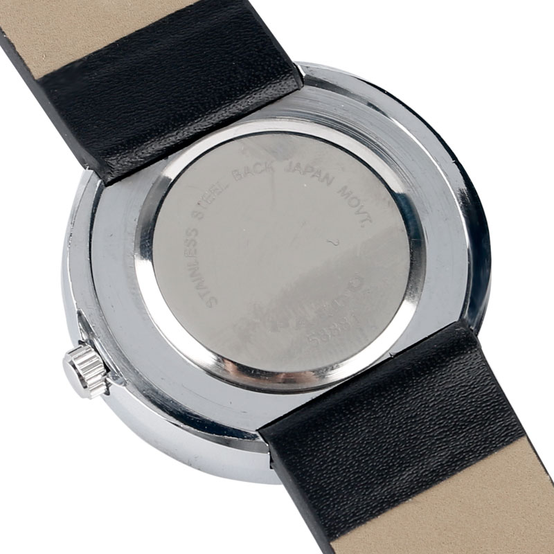 Horloge Heren Creatief Leren Band Band Armband Draaitafel Horloges - Herenhorloges - Foto 5