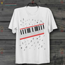 2019 Short Sleeve Cotton Man Clothing Piano Beat It Michael Jackson Mtv Video Retro Vintage Hipster Unisex T Shirt  t shirt