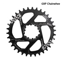 SNAIL Bike Chainwheel 30T 32T 34T 7075 CNC Narrow Wide Chainring For Sram GXP XX1 X9 XO X01 AL offset 6mm