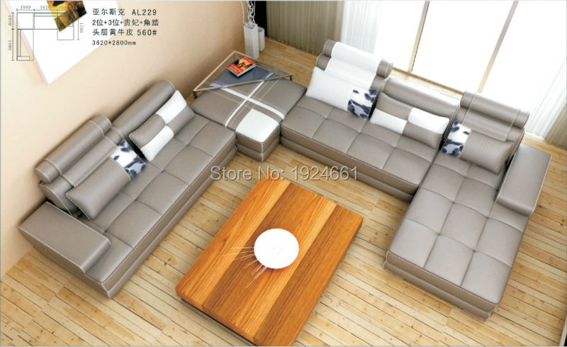 Beanbag Armchair For Living Room Set No Hot Sale Real Chaise Bean Bag Chair 2016 European Style Modern Genuine Leather Sofa 2016 bean bag chair special offer european style three seat modern no fabric muebles sofas for living room functional sofa beds