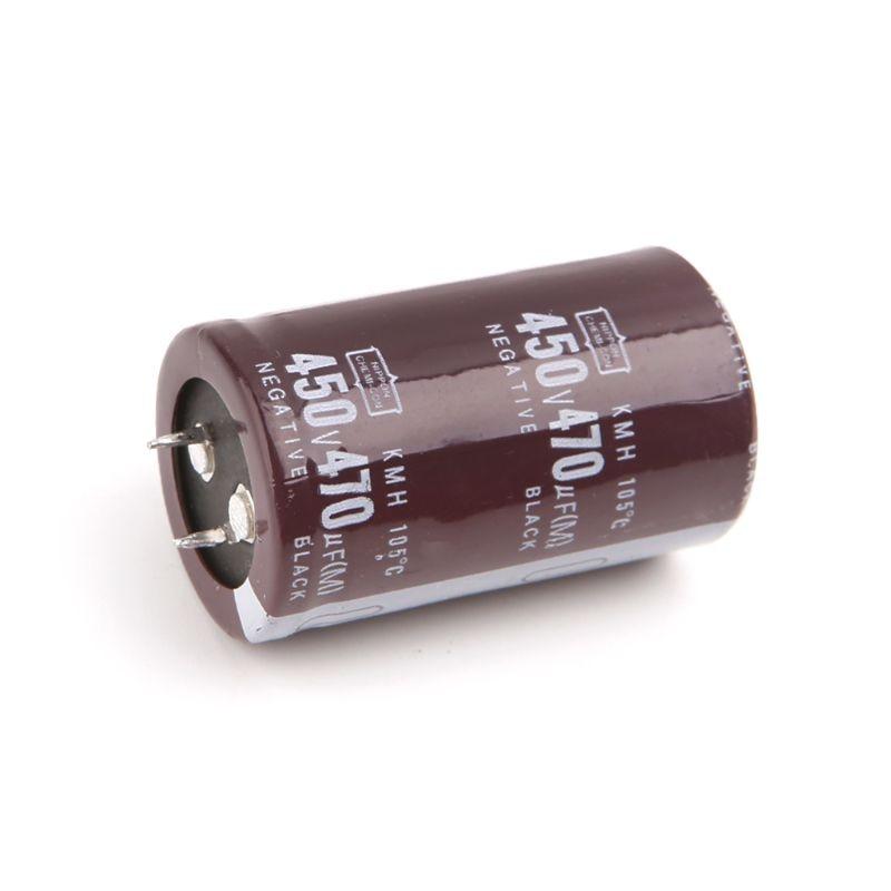 Electric Welder 450V 470uF Aluminum Electrolytic Capacitor Volume 30x50