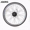 JQORG 700C rueda delantera e-bici de conducción rueda de motor sin escobillas DC gear 700C rueda de motor para la bicicleta eléctrica