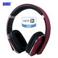 August EP650 Wireless Bluetooth Headphones with Microphone 3.5mm Audio in Wired and Wireless Stereo aptx Headset for Phone,PC