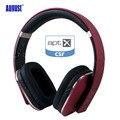 August ep650 sem fio bluetooth fones de ouvido com microfone 3.5mm de áudio aptx estéreo em com e sem fio fone de ouvido para o telefone, pc