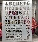 29*21cm New Alphabet...