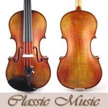 1715 StradivariusModel Violin No.1462,Siberian Spruce,Oil Varnish,Antique Violin,Advanced Level,Powerful rich tone