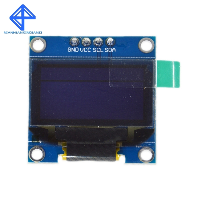"""White color 128X64 OLED LCD LED Display Module For Arduino 0.96"""" I2C IIC SPI Serial new original 4"""