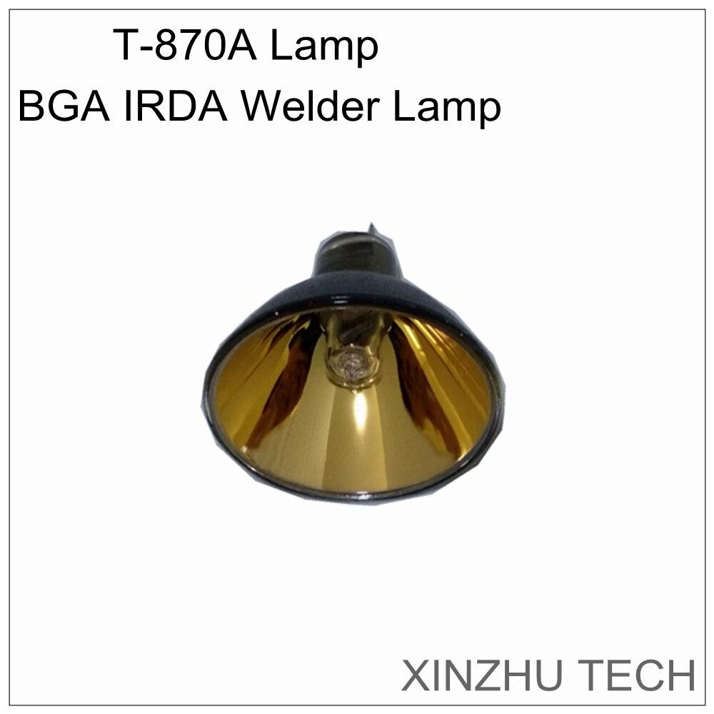 Lampe soudeuse Orignal PUHUI T-870A BGA IRDA lampe chauffante infrarouge station de reprise ampoule pour lampe accessoire t870aLampe soudeuse Orignal PUHUI T-870A BGA IRDA lampe chauffante infrarouge station de reprise ampoule pour lampe accessoire t870a