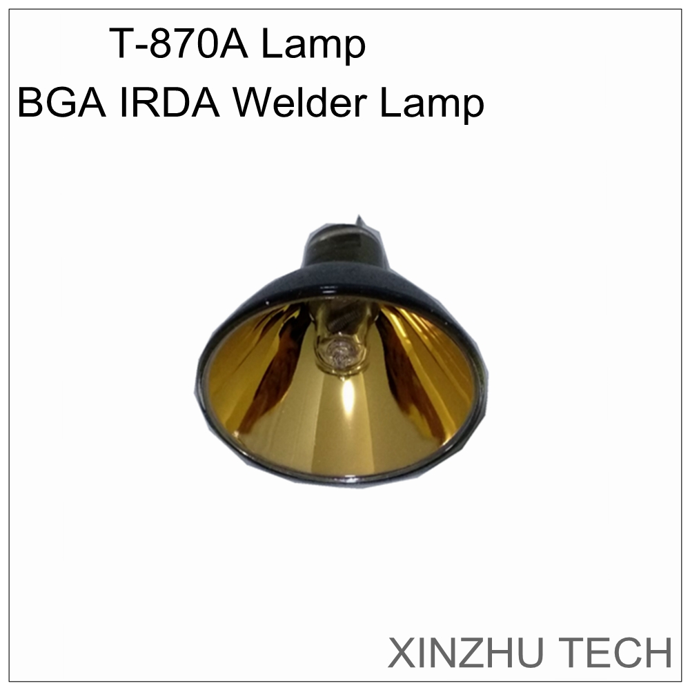 Orignal PUHUI T 870A BGA IRDA welder lamp infrared heating lamp rework station heat bulb for t870a accessary lamp