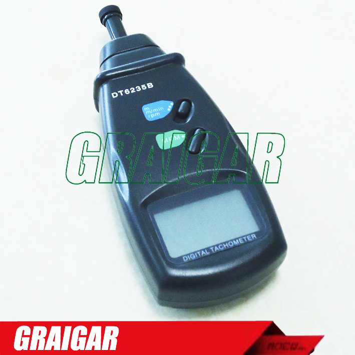 DT6235B Contact Tachometer /Surface Speed meter /Line length Meter DIGITAL PHOTO TACHOMETER DT6235B dt 2856 photo touch type tachometer dt2856