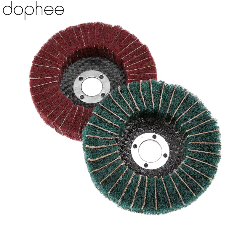 4 pieces 100*16mm Fiber Sanding Disc Green 180# Angle grinder accessories