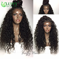 High Quality Kinky Curly 13x6 Lace Frontal Wig With Baby Hair Virgin Malaysian Lace Front Human Hair Wigs Natural Hairline