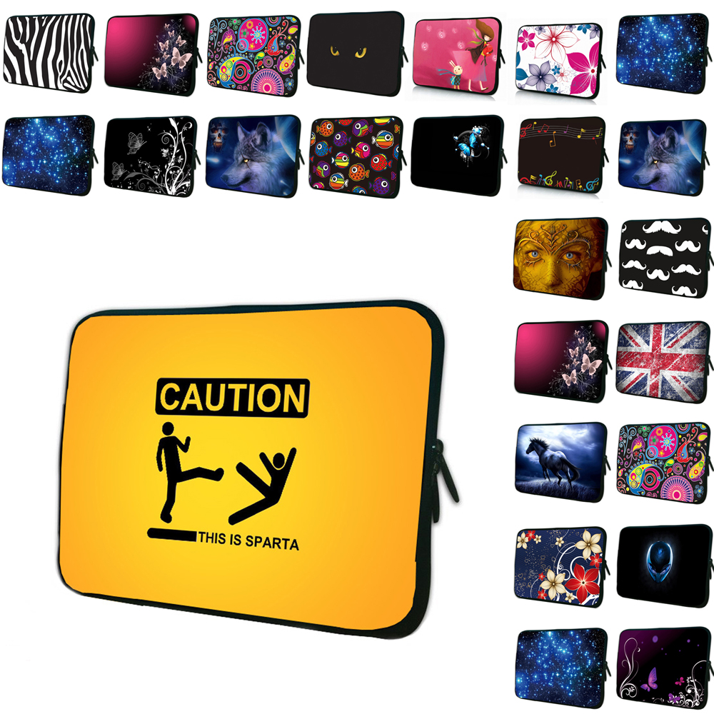 Viviration Women Mens Portable 7 10 12 13 14 15 17 13.3 11.6 12.1 Laptop Notebook Computer Liner Cover Case Shockproof Pouch Bag