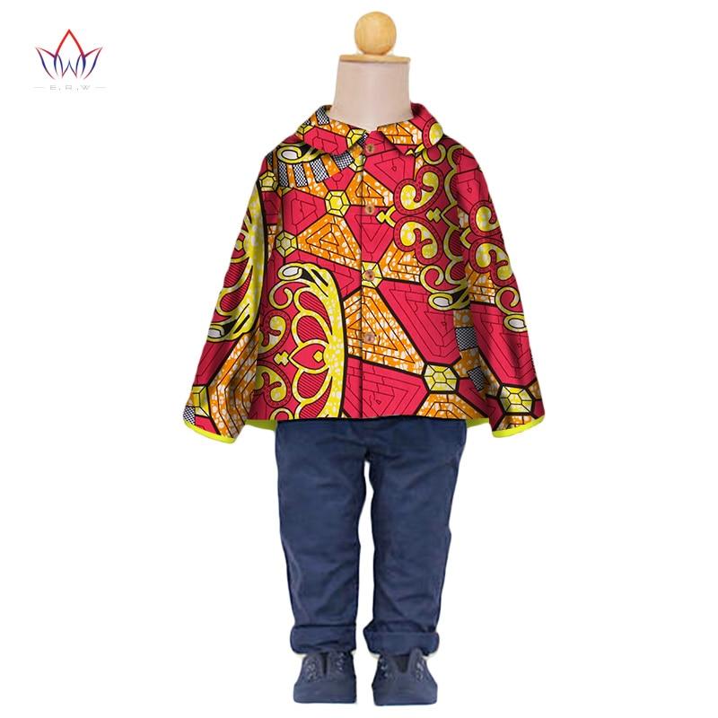 BRW 2017 New Fashion Summer Africa Children Clothing Dashiki Cute Girls Dresses African traditional clothing for Children WYT101