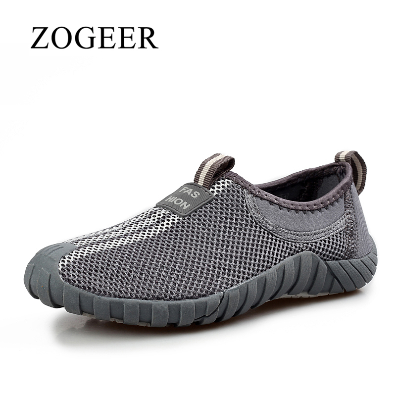 Summer Shoes, Fashion Breathable Air Mesh Men Shoes, Comfortable Designer Slip On Casual Sneakers Mens Loafers, ZOGEER Brand chilenxas 2017 summer new fashion air mesh shoes men casual footwear breathable slip on light loafers round toe sweat absorbant