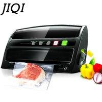 JIQI Electric Vacuum Food Sealer Sealing Machine Packing Sealers Food Saver Preserver Food vacuum packaging machine 200w