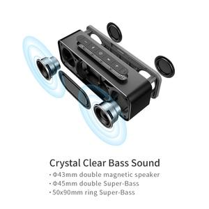 Image 3 - MIFA A20 אלחוטי נייד מתכת Bluetooth רמקול עם Handfree TWS מים הוכחה IPX4 30W רמקול כוח עם בס רמקול
