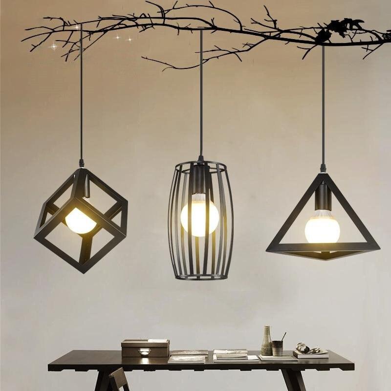 Moderne LED Anhänger Licht Küche Suspension Vintage E27 Anhänger ...