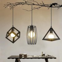 YZF Nordic Restaurant Chandelier One Three Modern Simple Creative Personality Chandelier Lamp For Coffee Bar Bedroom