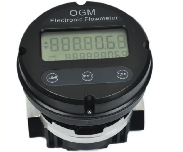 OGM-E-25/40/50 Aluminum Oval Gear Meter With Electronic Register