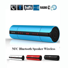 9Tong Bluetooth Speaker LED Blutooth Som Mini Music Sound Box  with FM Radio For Phone Player Portatil Hoparlor #c0