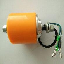 Двухвальный 3-дюймовый мотор-колесо BLDC для скутера, Одобрено CE