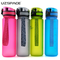 500ML Water Bottles Bpafree Fashion Scrub Portable Space Cup With Original Box Resistant Sports Nutrition Custom