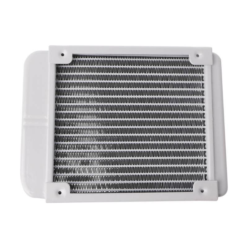 120*155*30mm Aluminum Computer Radiator Water Cooling Cooler 18 Tube CPU Heat Sink Exchanger medium computer cpu plastic cooling fan leaves card blower heat sink