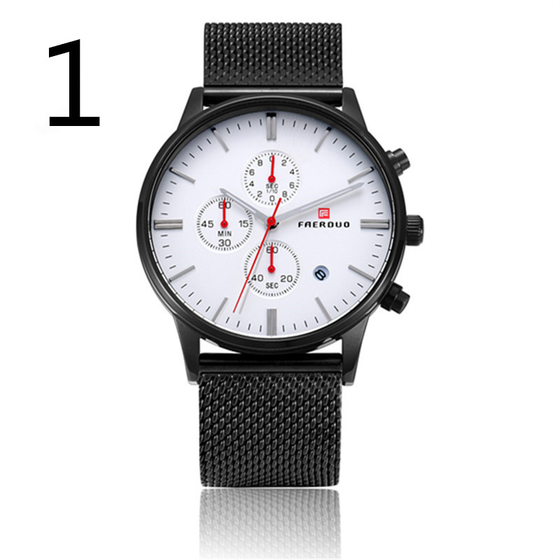 Automatic mechanical watch waterproof business watch belt watchAutomatic mechanical watch waterproof business watch belt watch