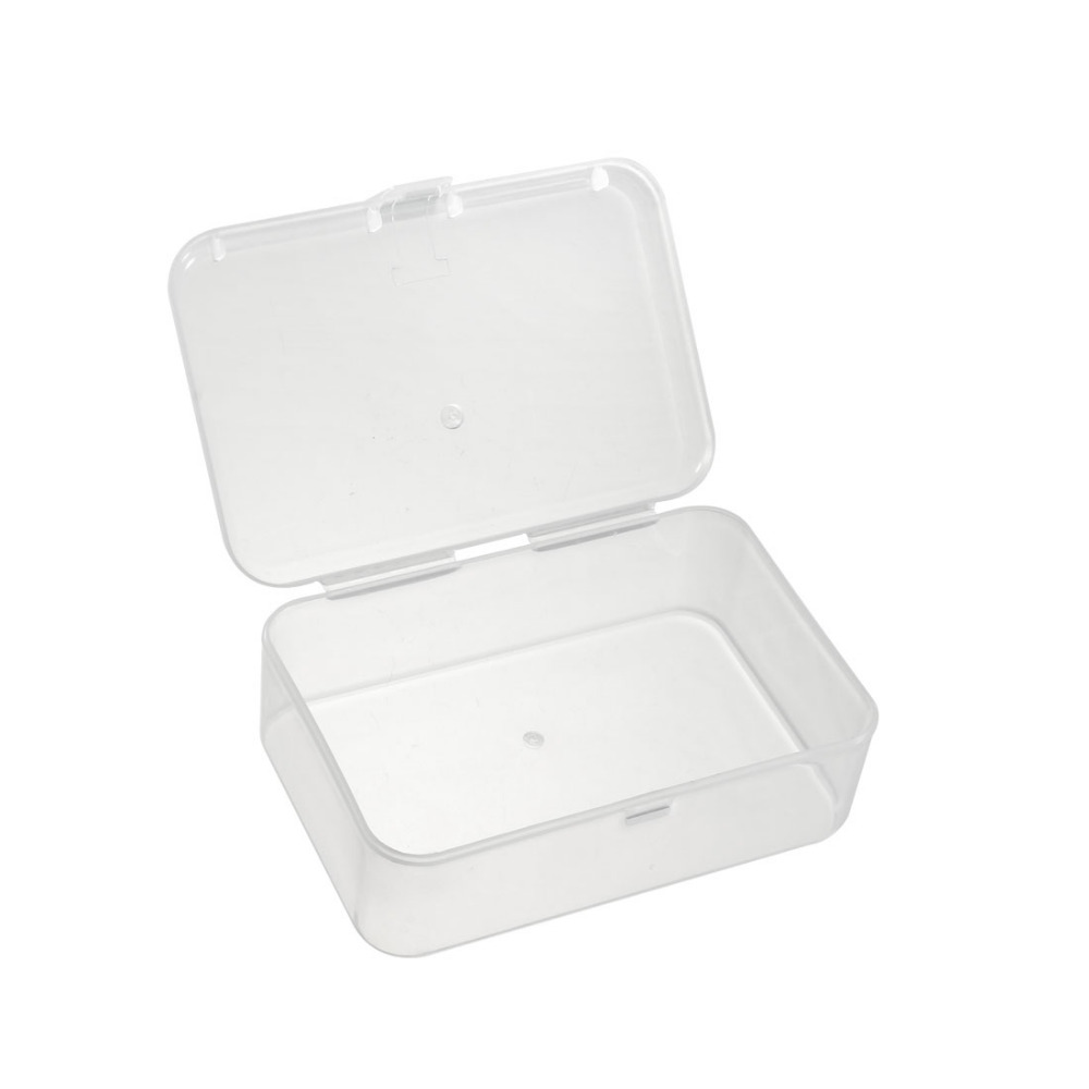 Uxcell Newest 1PCS Electronic Component Containers Component Storage Box 90 X 60 X 30mm 73 X 53 X 30mm Tool Boxes Organizer Kits