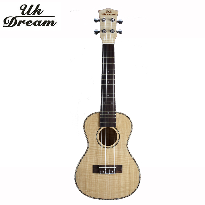 Guitar Small Ukulele 23 Inch 4 Strings Full Flame Maple Classical Guitar Acoustic Guitar Profession Musical Instruments UC-A6H рюкзак deuter daypacks stepout 12 dresscode black