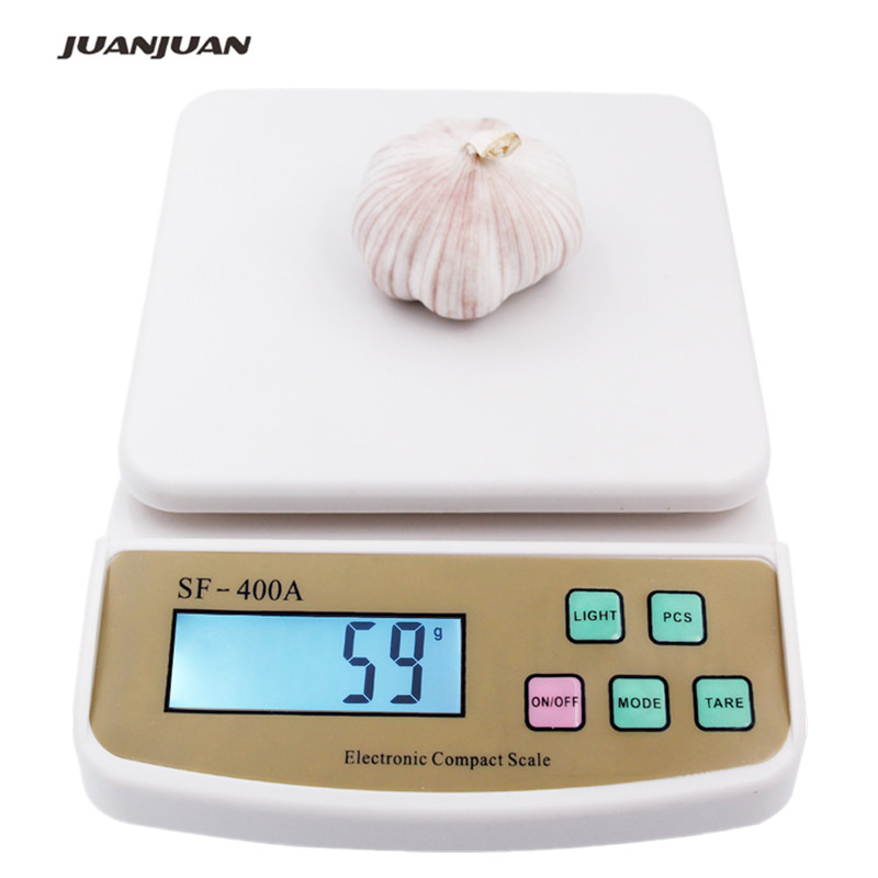 10Kg 1g Libra Digital Kitchen Scales Counting Weighing electronic balance scale SF-400A  15%10Kg 1g Libra Digital Kitchen Scales Counting Weighing electronic balance scale SF-400A  15%