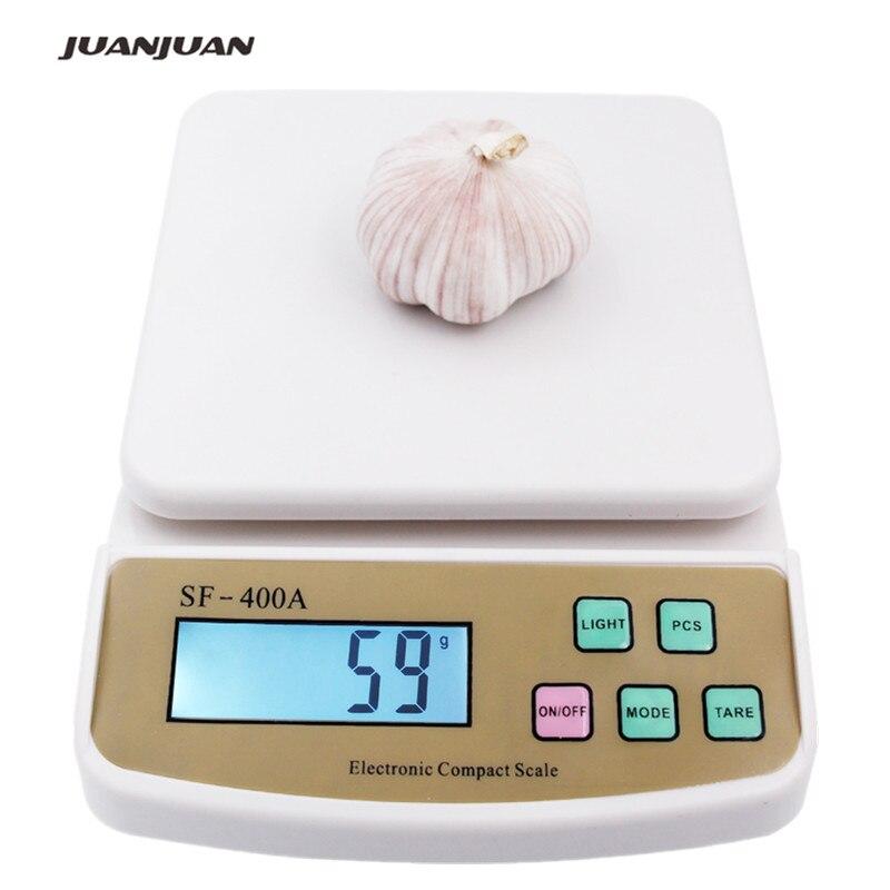 Balance de cuisine numérique balance 10Kg 1g comptage balance électronique balance SF-400A 15%