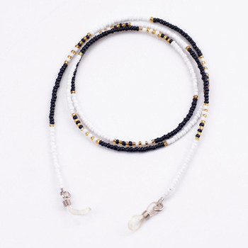 Acrylic Beaded Chain Eyeglasses Chains Reading Glasses Sunglasses Strap Cord Holder Neck Head Band Accessories