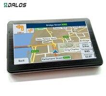 7 «дюймовый GPS PND портативный автомобильный Навигатор Новые Карты Для Европы спутниковой навигационной Спутниковой навигации Автомобиля Грузовик BusTaxi