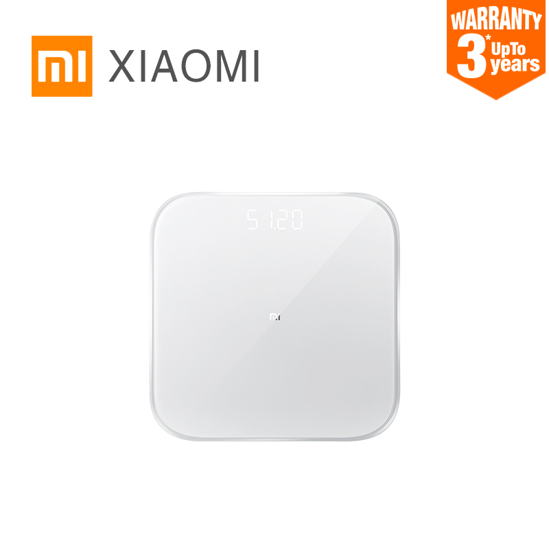 XIAOMI MIJIA Mi Smart Weight Scale 2 Bathroom Scales Digital Electronic Lose weight Bluetooth Fitness LED screen baby animal APP(China)