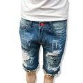 2017 джинсовые шорты мужчин летний новый мужской моды джинсы шорты Досуг джинсовые шорты мужчин бесплатная доставка