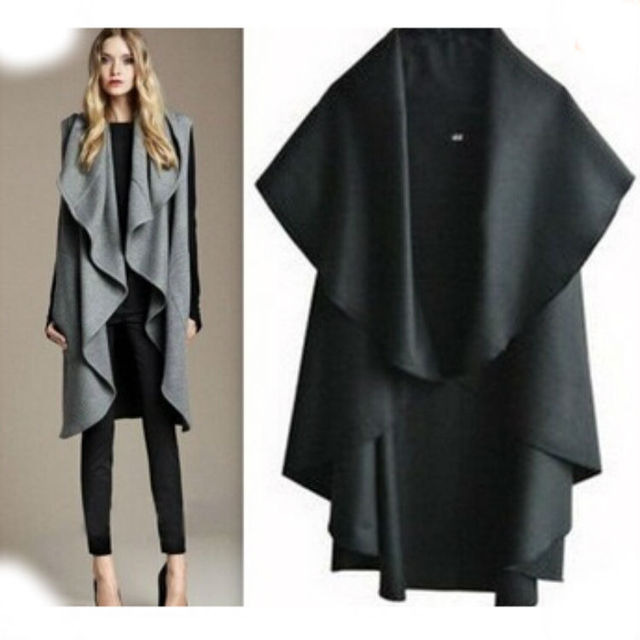 Lady Outerwear Poncho Cloak 2014 New Design Personality pelerine tippet Fashion Women Woolen Cape Cloak