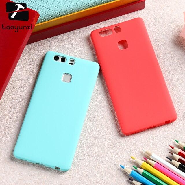 TAOYUNXI Phone Cases Covers For Huawei P9 EVA-L09 (Single SIM) EVA-L19 EVA-L29 (Dual SIM) Case Soft Silicon Bag Hood Shield
