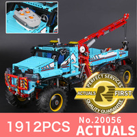 Lepin Presell 20056 1912Pcs The Ultimate All Terrain Remote Control Truck Set Building Blocks Bricks Toys