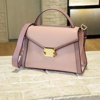 Designer Handbags High Quality 2019 New Split Leather Messenger Bag Women Shoulder Bags Trapeze Female Handbag Bolsos Mujer