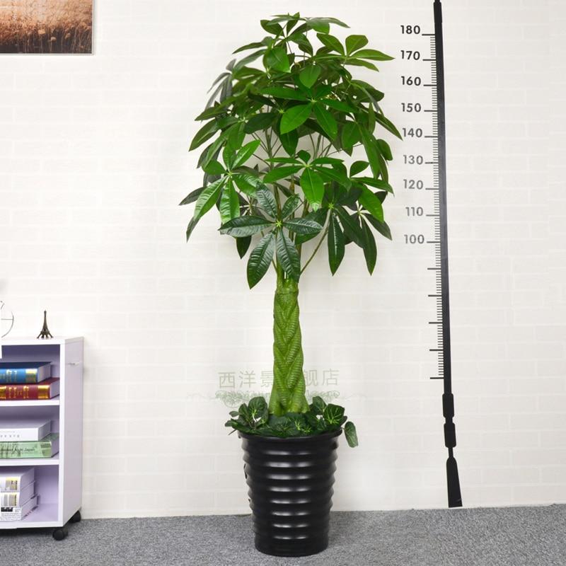 Simulazione albero pucai albero di plastica piante verdi for Vasi bonsai plastica