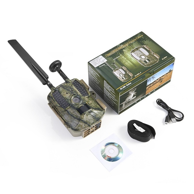 Hunting Camera GPS 4G Scout Guard Night Vision Hunter Camera Chasse Infrared Game Wild Trail Foto Traps Camara De Caza Chasse 6