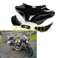 Motorcycle Front Outer Front Batwing Fairing Cowling Cowl for Harley Davidson Road King Softail Fat Boy 1986 2012