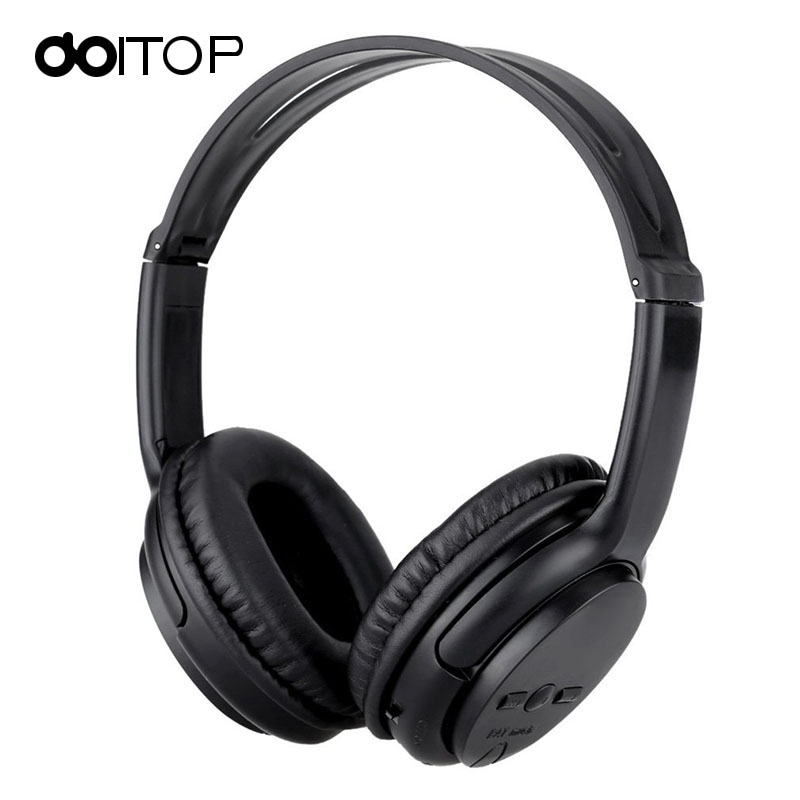 DOITOP Wireless Bluetooth Headphone Stereo Headset Foldable Sports Music Earphones Support TF Card for Smartphones Computer A3 t8 wireless bluetooth headphone foldable sport stereo earphone hifi headset handsfree with microphone support tf card music play