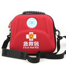 Professional EVA Waterproof Premium Nylon First Aid Bag  Emergency Kit with Shoulder Strap Separator for Hiking Travel Home Car