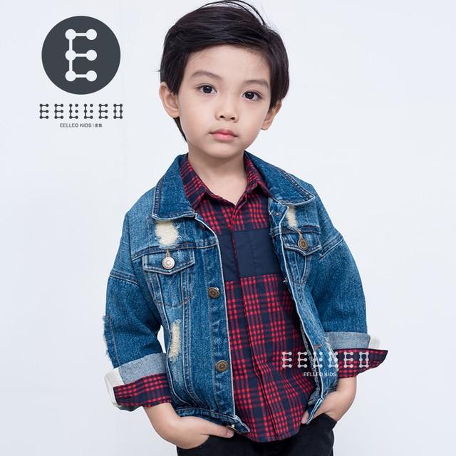 3cf6ae186ed98 Baby Boys Denim Jackets Coats Fashion Children Outwear Coat Autumn Winter Boy  New Design Kids Denim