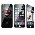 B2case nueva para apple iphone 6 6 s plus 5.5 pulgadas de alta calidad Suave piel protector de pantalla Front + Back Full película Encantadora Decoración de la Etiqueta Engomada